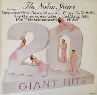 Nolan Sisters (‎The) - 20 Giant Hits (LP) (EX+/VG)